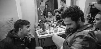 "Backstage di ""Radice di 9"" di Daniele Barbiero"