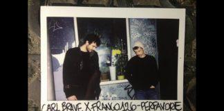 Carl Brave x Franco 126 in una polaroid