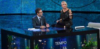 Fabio Fazio e Luciana Littizzetto in Che tempo che fa