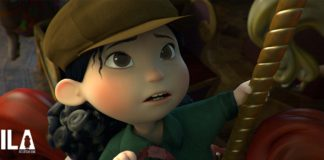 immagine dal corto Mila
