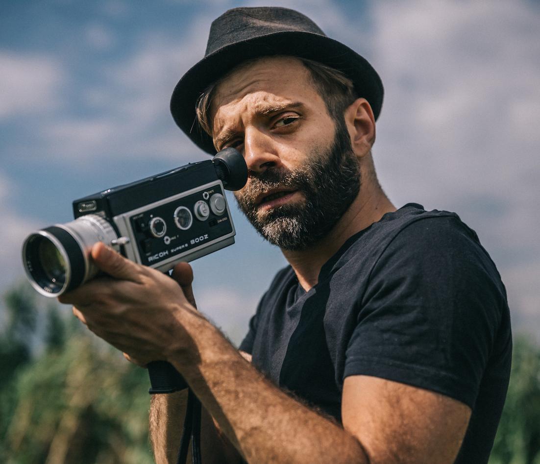 il regista di Boxe Capitale Roberto Palma
