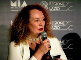 La presidente di Italian Film Commissions Cristina Priarone