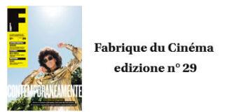 Fabrique du Cinema - Cover 29 - www.fabriqueducinema.it